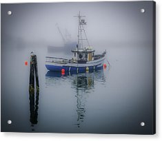 Foggy Morning At Rest Acrylic Print
