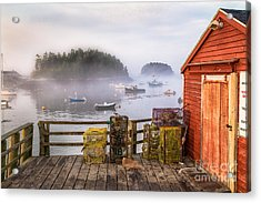 Foggy Morning In Five Islands Acrylic Print