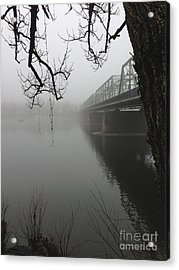 Foggy Morning In Paradise - The Bridge Acrylic Print
