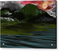 Foggy Mountain Dew Acrylic Print