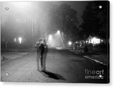 Foggy Night Acrylic Print