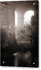 Foggy Palace 1 Acrylic Print by SFPhotoStore