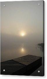 Foggy Reflections Acrylic Print