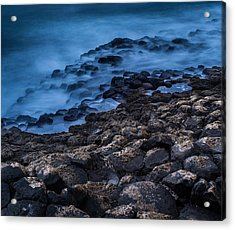 Foggy Seascape Acrylic Print by Craig Brown