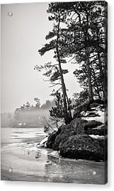 Foggy Winnisquam Acrylic Print