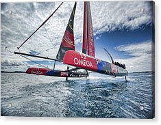 Foiling 4 Acrylic Print by Chris Cameron
