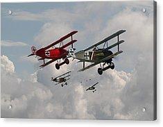 Fokker Squadron - Contact Acrylic Print