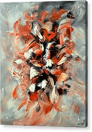 Folies Bergeres Acrylic Print by Isabelle Vobmann