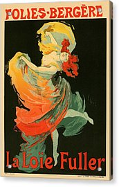 Follies Bergere Acrylic Print by Gianfranco Weiss