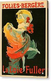 Follies Bergere Acrylic Print