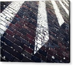 Follow Me - Abstract Photography By Sharon Cummings Acrylic Print by Sharon Cummings