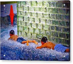 Follow The Leader Acrylic Print by Michael Durst