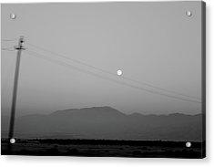 Follow The Moon Acrylic Print