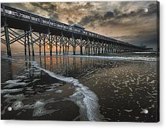 Folly Beach Dawn Acrylic Print