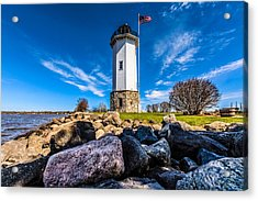 Fond Du Lac Lighthouse Acrylic Print