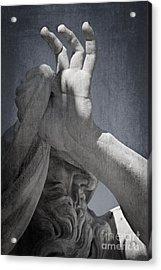 Fontana Dei Quattro Fiumi - River Nile Acrylic Print by Rod McLean