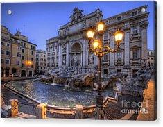Fontana Di Trevi 3.0 Acrylic Print