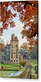 Fonthill Castle In The Fall Acrylic Print