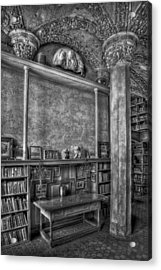 Fonthill Castle Library Acrylic Print