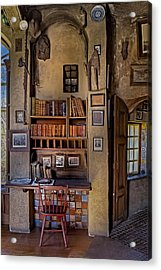 Fonthill Castle Study Acrylic Print by Susan Candelario