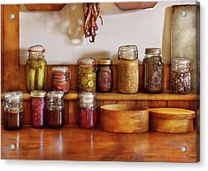 Food - I Love Preserving Things Acrylic Print by Mike Savad