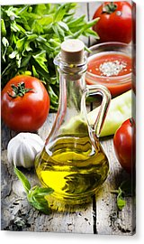 Food Ingredients Acrylic Print