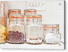 Food Jars Acrylic Print