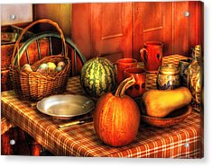 Food - Nature's Bounty Acrylic Print by Mike Savad