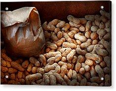 Food - Peanuts  Acrylic Print by Mike Savad