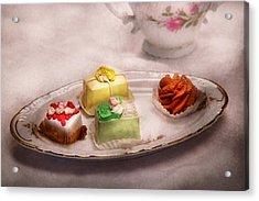 Food - Sweet - Cake - Grandma's Treats  Acrylic Print by Mike Savad