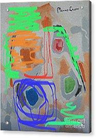 Foolin Myself Acrylic Print by Jay Manne-Crusoe