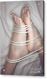 Foot Bound Acrylic Print by Tos