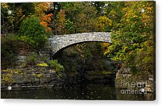 Foot Bridge At Beebe Lake Acrylic Print