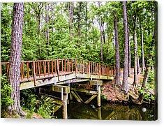 Foot Bridge Acrylic Print