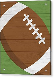 Football 2 Acrylic Print by Tamara Robinson