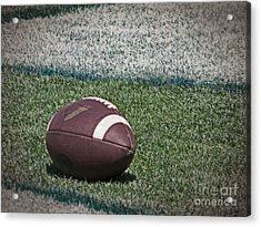 An American Football Acrylic Print