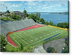 Football Field By The Bay Acrylic Print