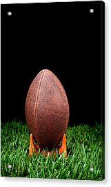 Football Kickoff Acrylic Print by Joe Belanger