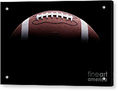 Football Painting Acrylic Print by Jon Neidert