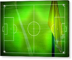 Football Soccer Field Acrylic Print