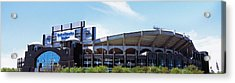 Football Stadium In A City, Bank Acrylic Print by Panoramic Images