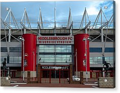 Football Stadium - Middlesbrough Acrylic Print