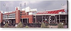 Football Stadium, Papa Johns Cardinal Acrylic Print