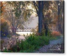 Footbridge II Acrylic Print