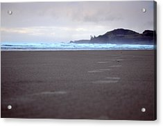 Footprints Acrylic Print by Sheldon Blackwell