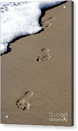 Footsteps Acrylic Print
