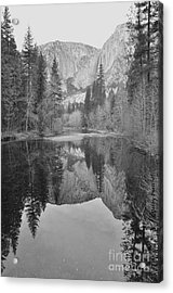 Footsteps Of Ansel Adams Acrylic Print by Debby Pueschel
