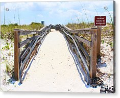 Footwear Required Acrylic Print by Jeanne Forsythe