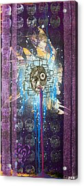 For A Minute There I Lost Myself Acrylic Print by Bobby Zeik