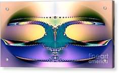 For Her Majesty Acrylic Print by Renee Trenholm